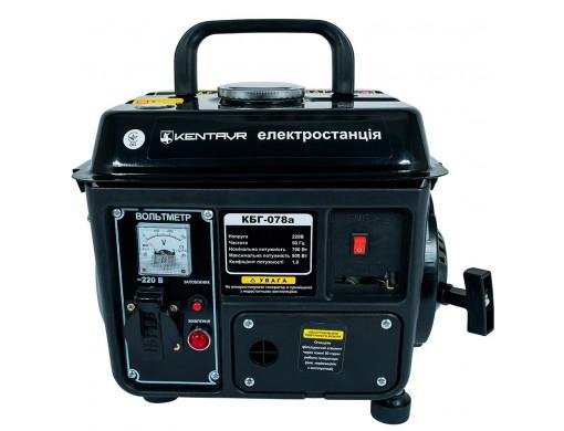 Генератор бензиновий Кентавр КБГ078а (електростанція)