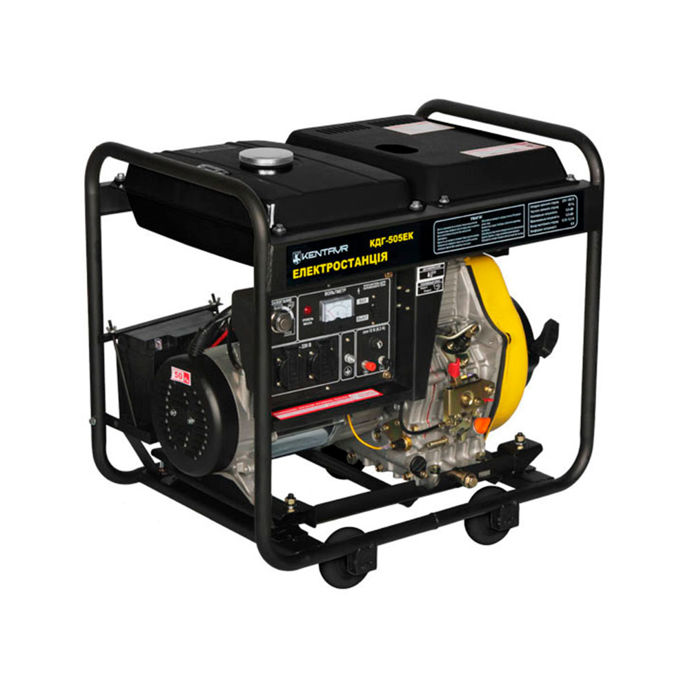Купить Генератор дизельний Кентавр КДГ505EК (електростанція)